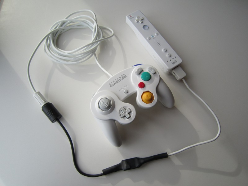 raphnet technologies gamecube controller to wiimote adapter