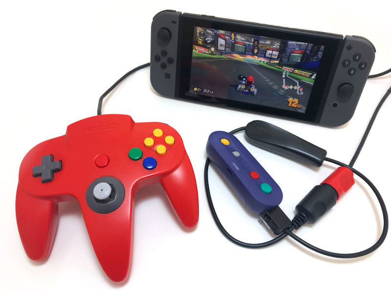 raphnet technologies - N64 controller to Wiimote adapter