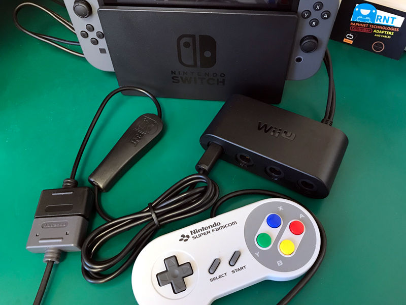 raphnet technologies - SNES controller to Wii/Gamecube cable